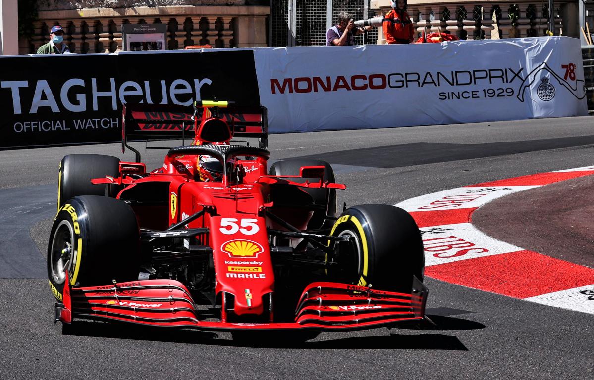 Carlos Sainz Monaco