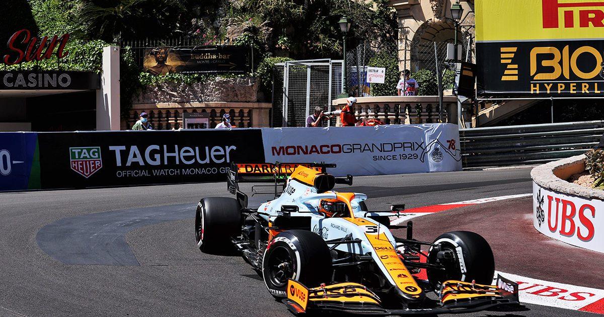 Daniel Ricciardo McLaren Monaco Grand Prix