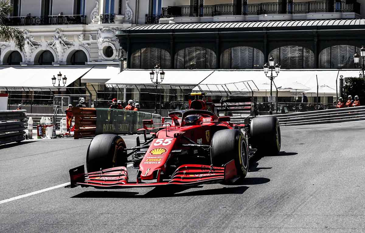 Carlos Sainz Monaco GP FP1 PA
