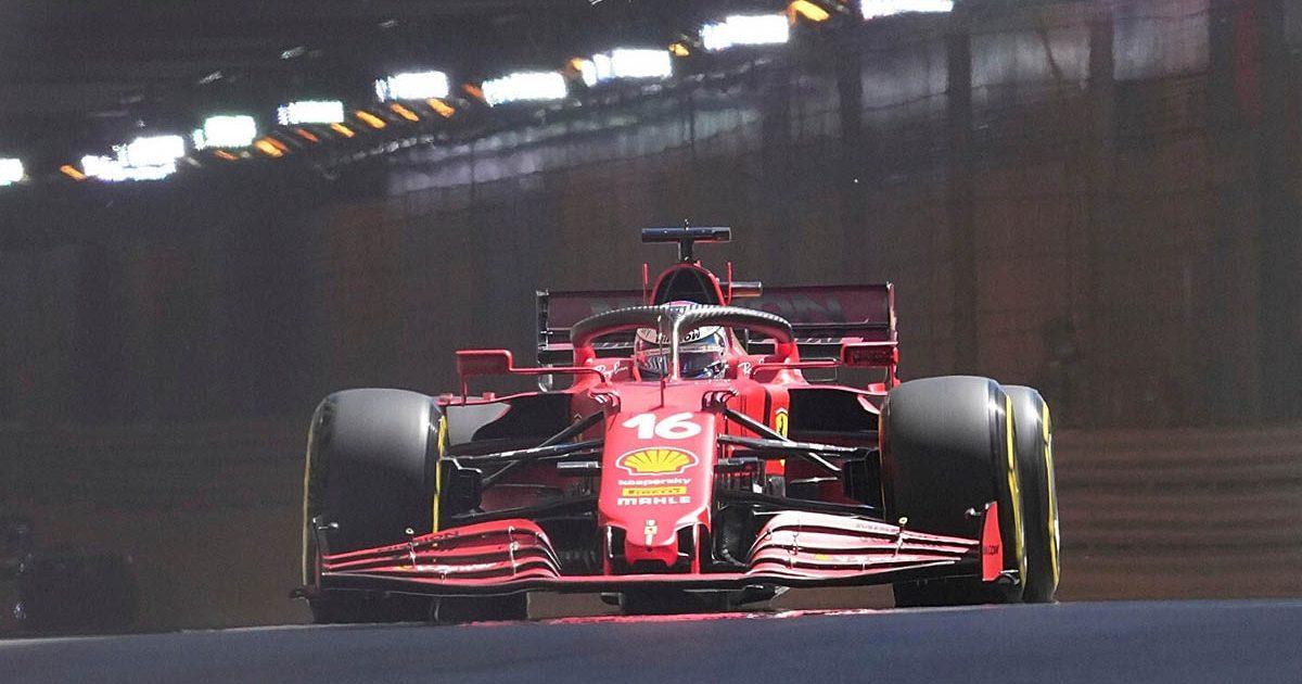 Charles Leclerc Monaco GP tunnel 2021 PA