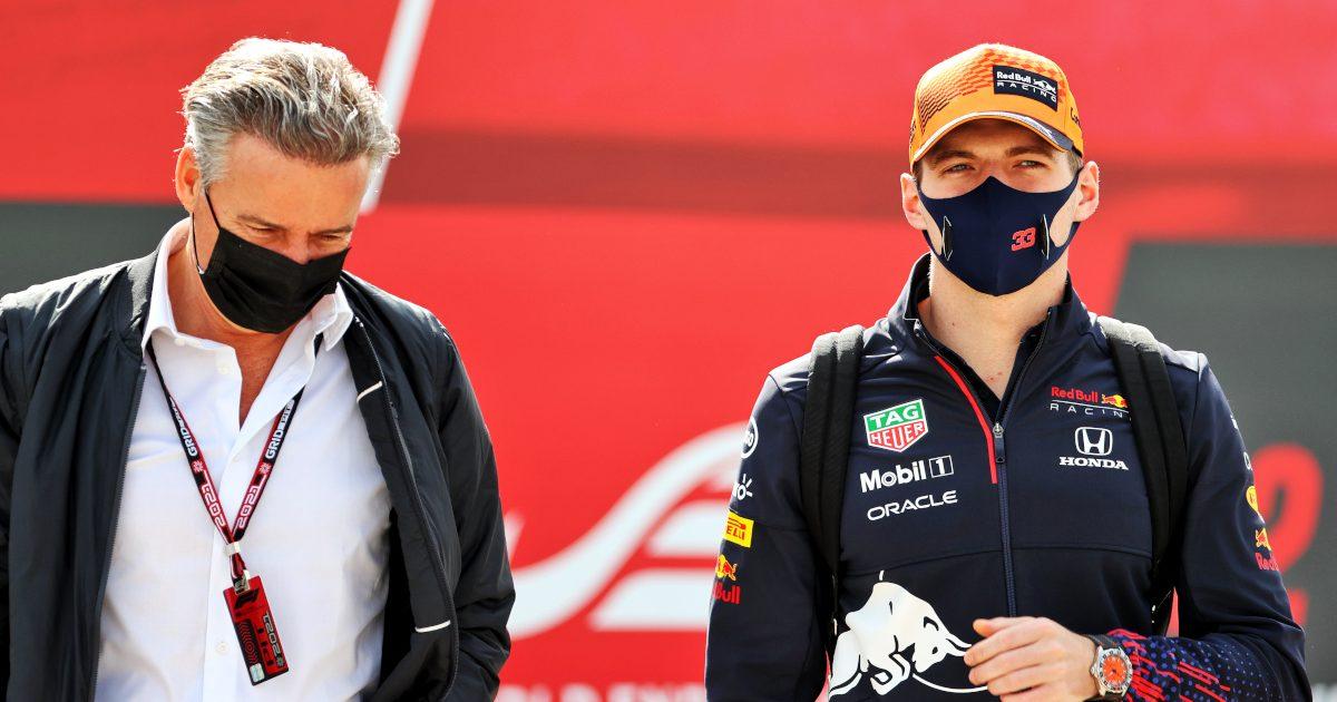 Max Verstappen and Raymond Vermeulen