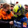 Lando Norris and Andreas Seidl