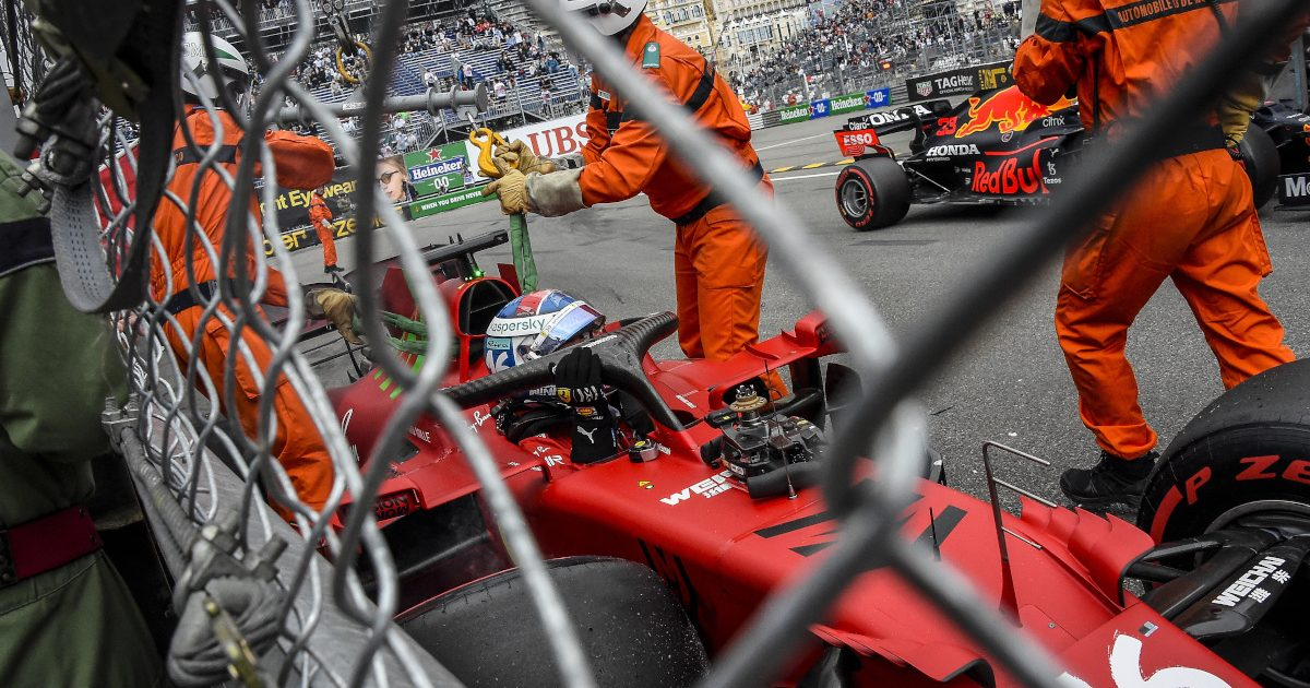 Charles Leclerc Monaco crash