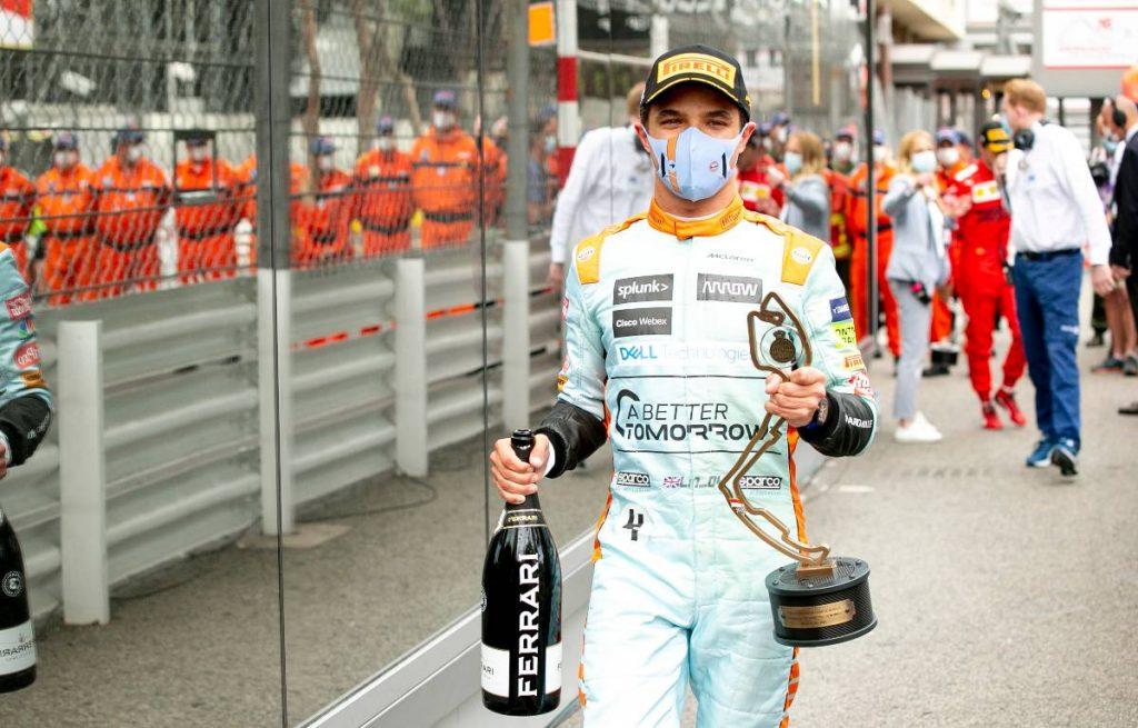 Lando Norris McLaren
