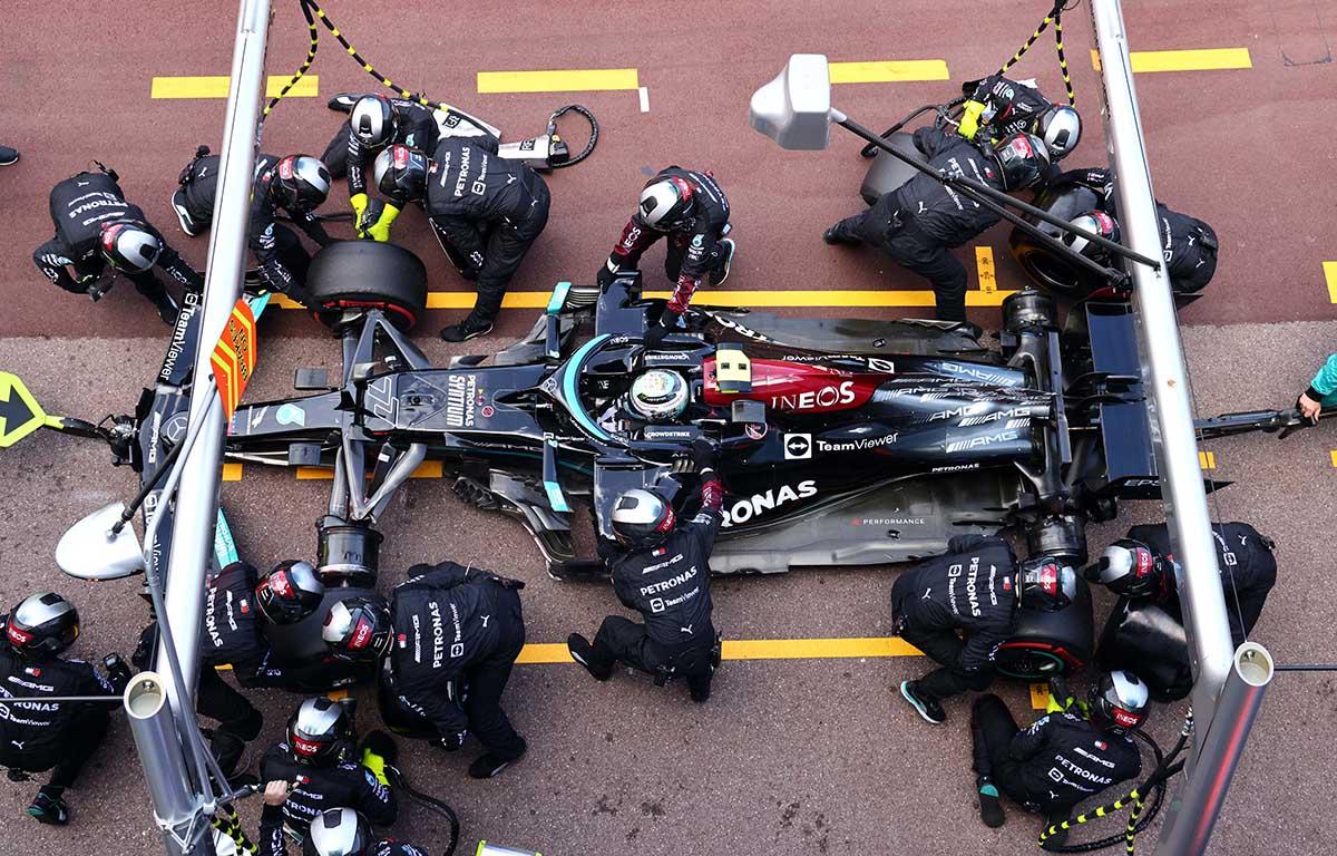 Valtteri Bottas Mercedes Monaco Grand Prix