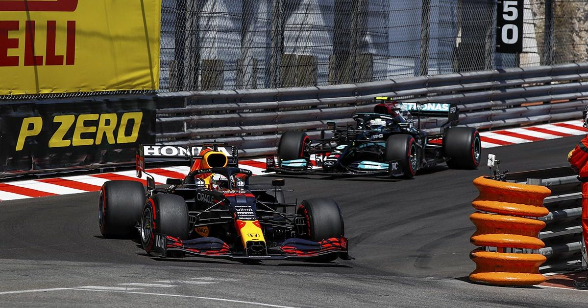 Red Bull Mercedes Monaco Grand Prix