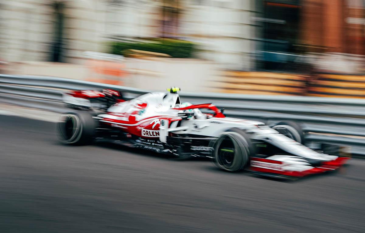 Antonio Giovinazzi, Alfa Romeo, Monaco Grand Prix 2021