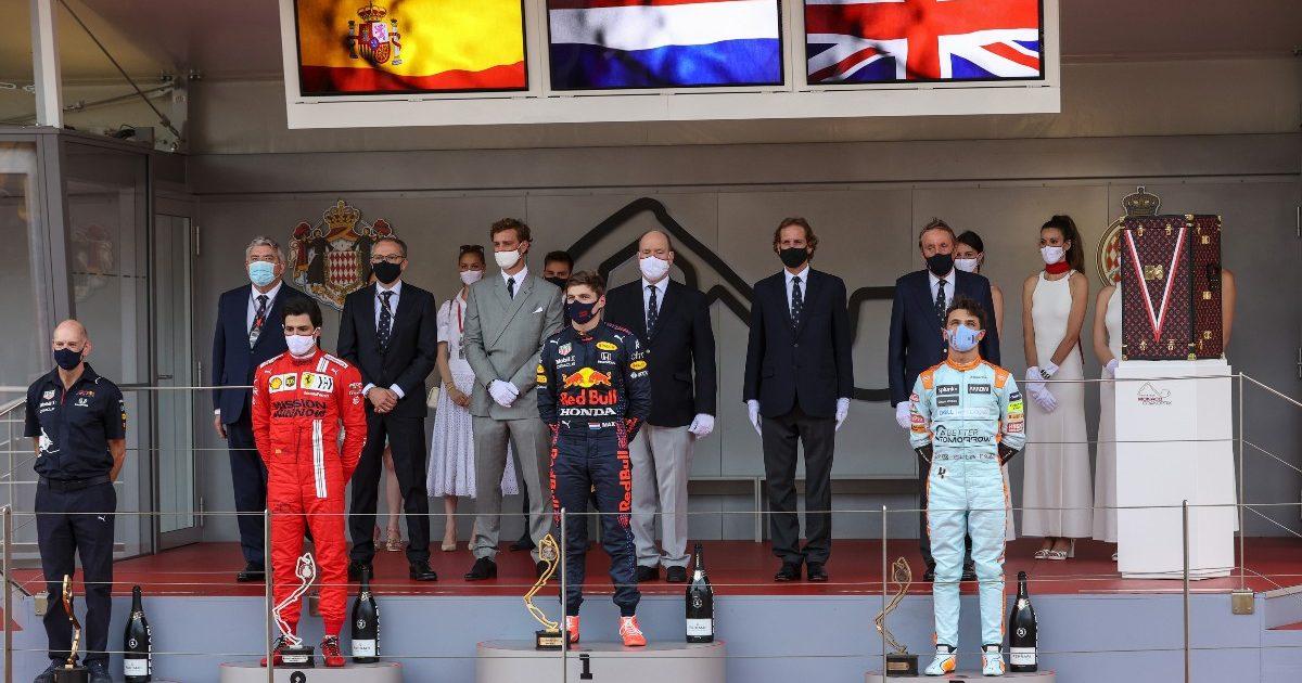 Max Verstappen Carlos Sainz Lando Norris