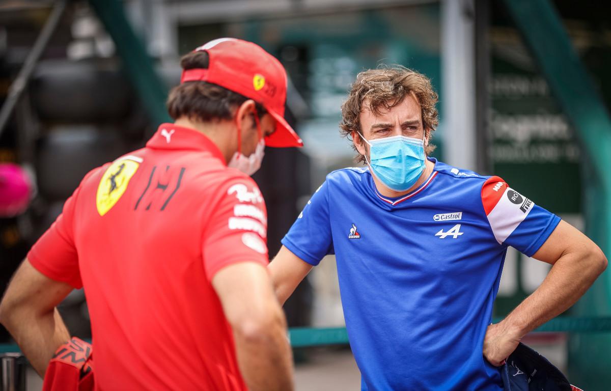 Carlos Sainz Fernando Alonso PA