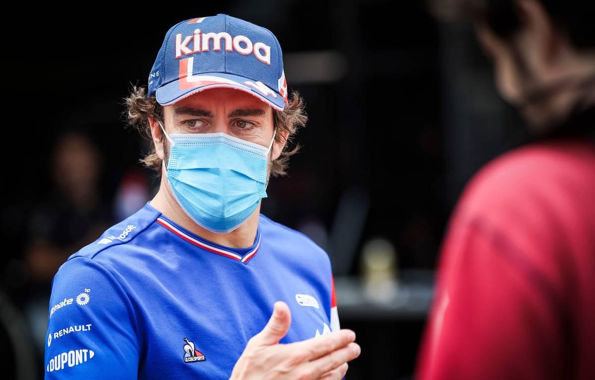 Fernando Alonso PA2.
