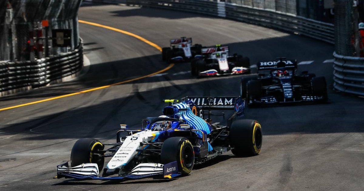 Monaco Williams AlphaTauri Haas