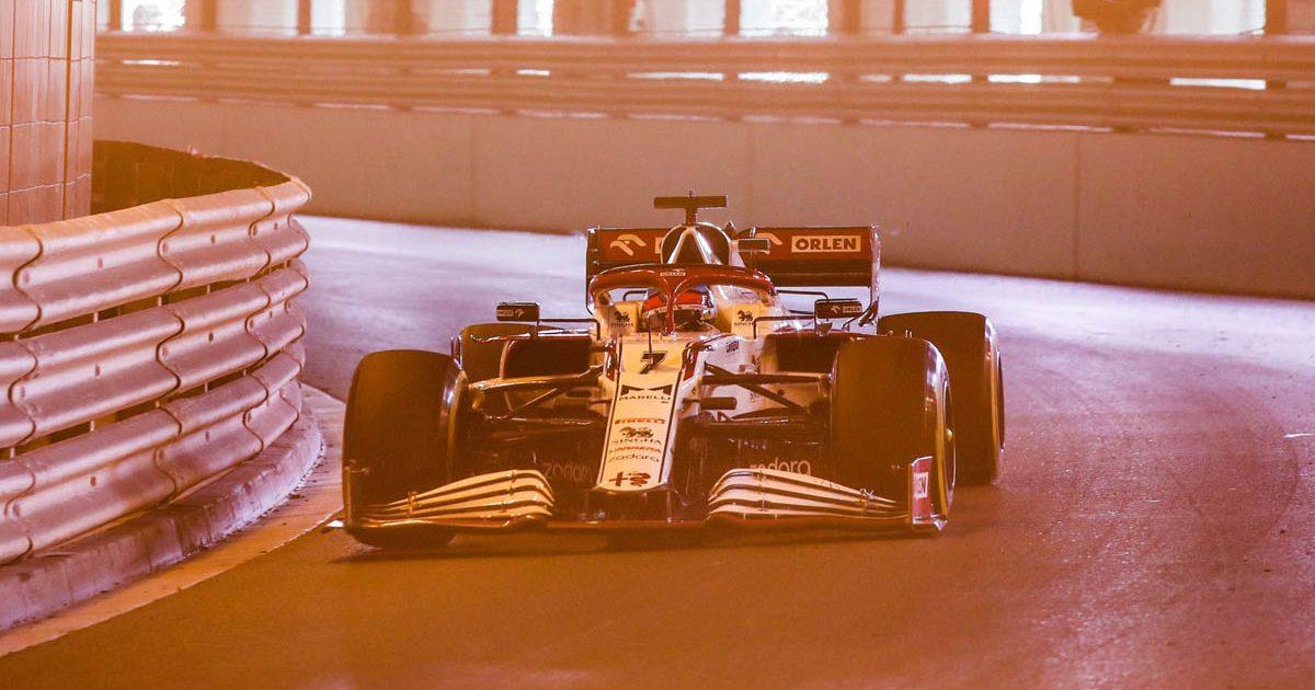 Kimi Raikkonen, Alfa Romeo, Monaco Grand Prix 2021