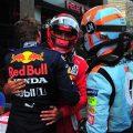 Carlos Sainz Lando Norris Max Verstappen