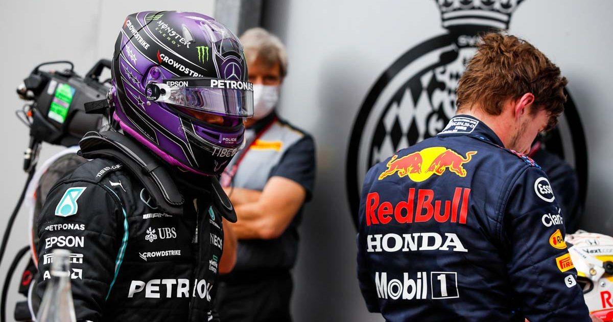 Lewis Hamilton Max Verstappen Monaco 2021 PA