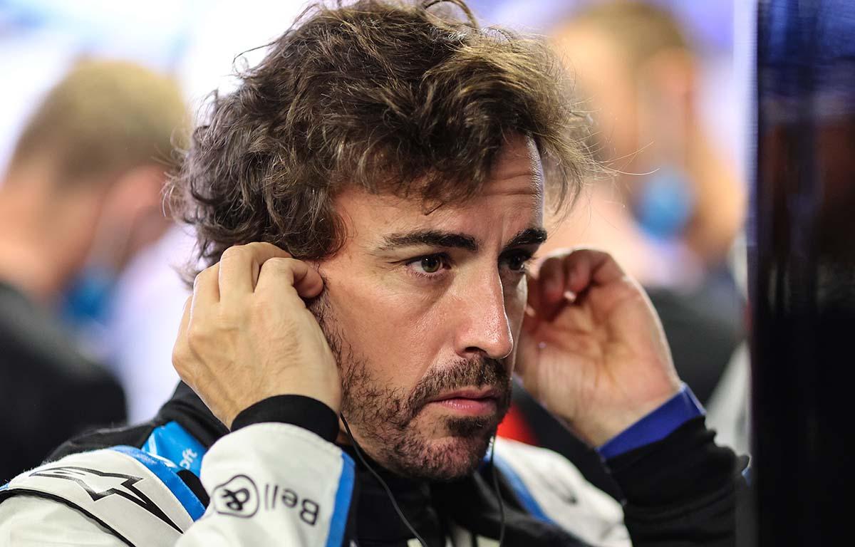 Fernando Alonso Alpine Monaco Grand Prix