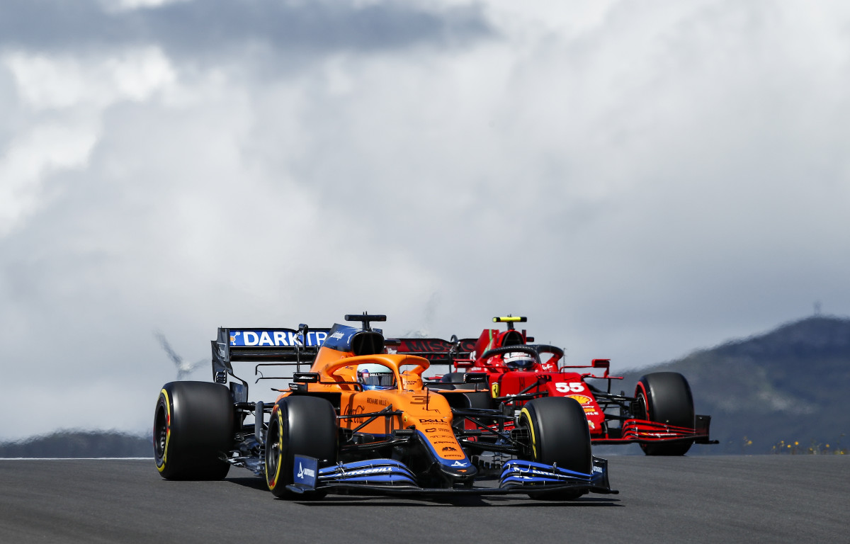 Daniel Ricciardo Carlos Sainz