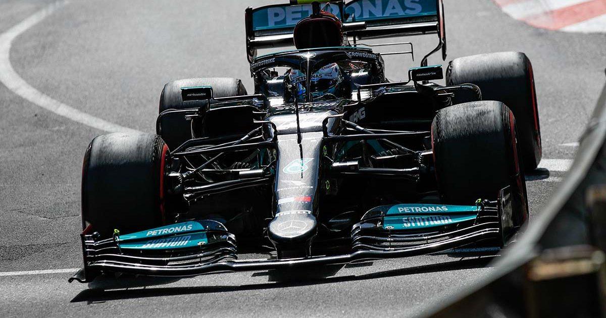 Valtteri Bottas Mercedes front wing