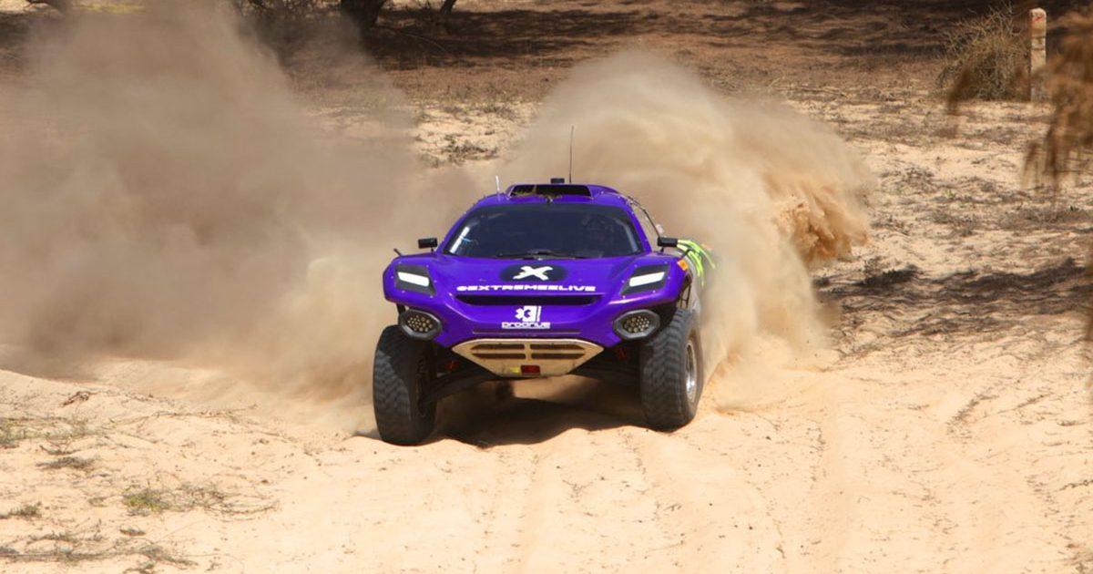 Team X44 Lewis Hamilton Extreme E