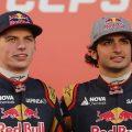 Max Verstappen Carlos Sainz Toro Rosso 2015.