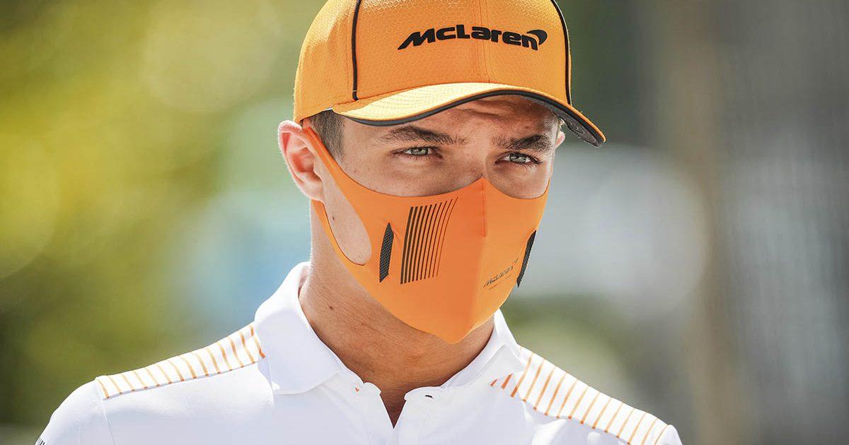 Lando Norris McLaren PA