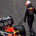 Max Verstappen FP3 crash Azerbaijan GP PA