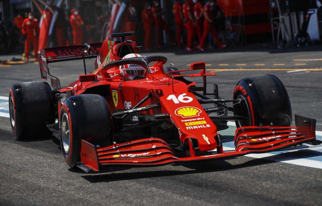 Charles Leclerc Azerbaijan GP 2021 PA