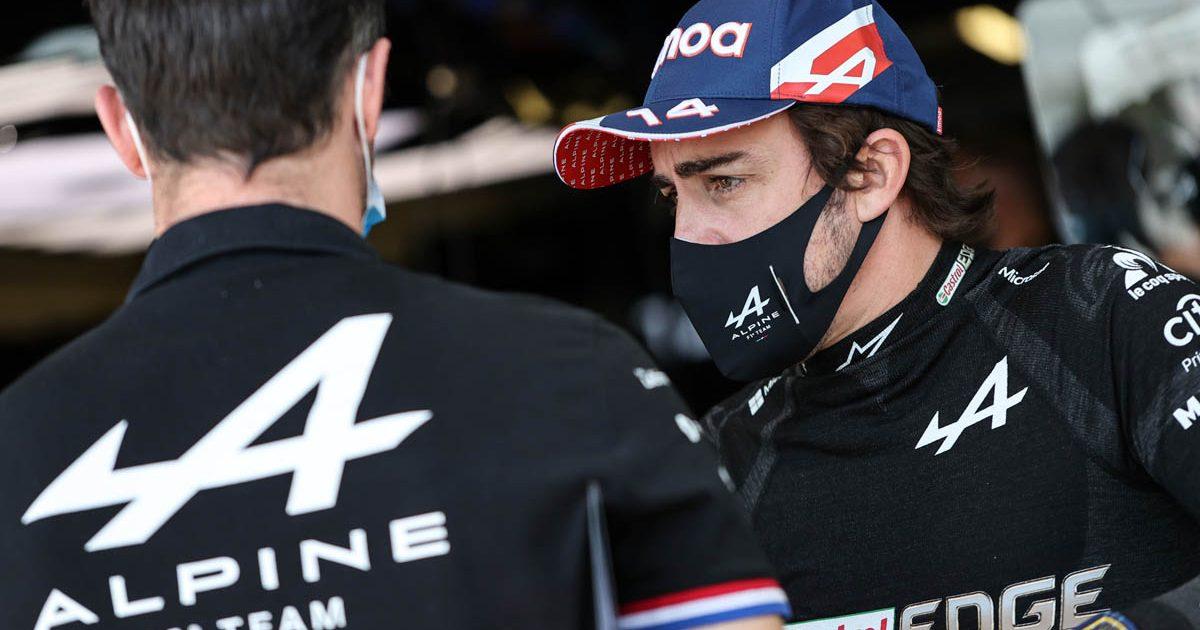 Fernando Alonso Azerbaijan GP 2021 PA