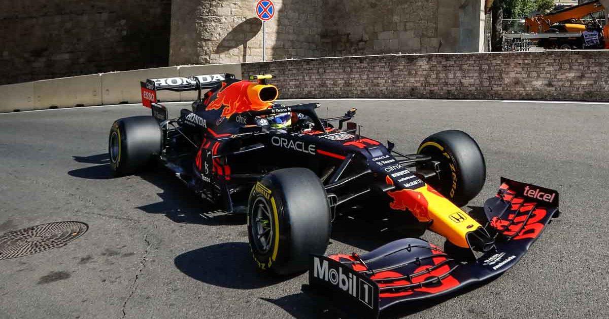 Sergio Perez Azerbaijan Grand Prix 2021 PA
