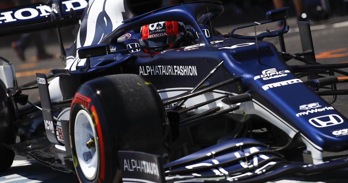 Pierre Gasly Azerbaijan GP 2021
