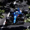 Esteban Ocon Alpine Azerbaijan GP