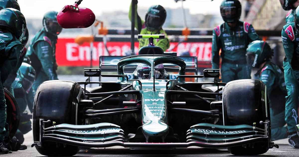 Sebastian Vettel Azerbaijan GP 2021