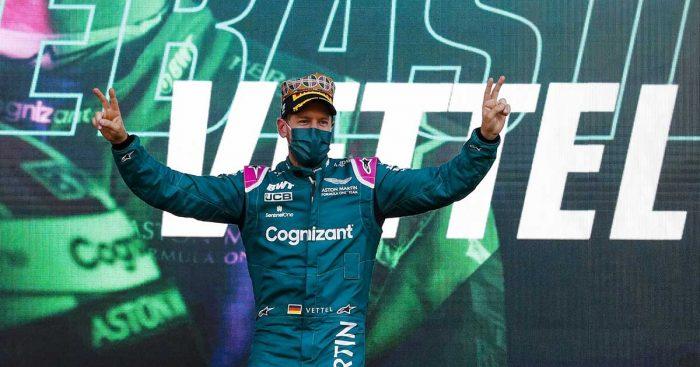 Sebastian Vettel Aston Martin