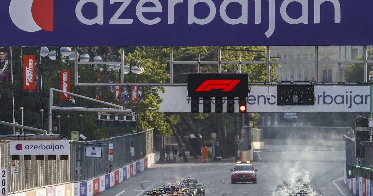 Azerbaijan Grand Prix restart