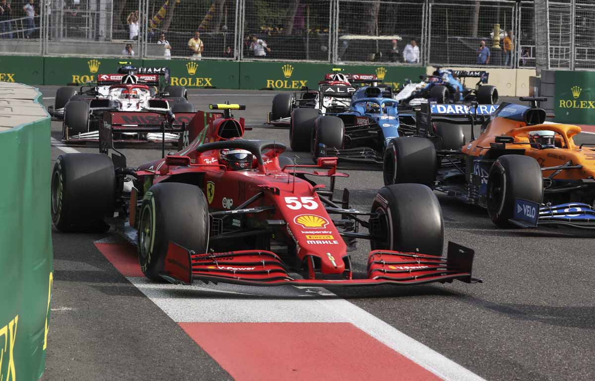 Carlos Sainz, Ferrari Azerbaijan GP 2021
