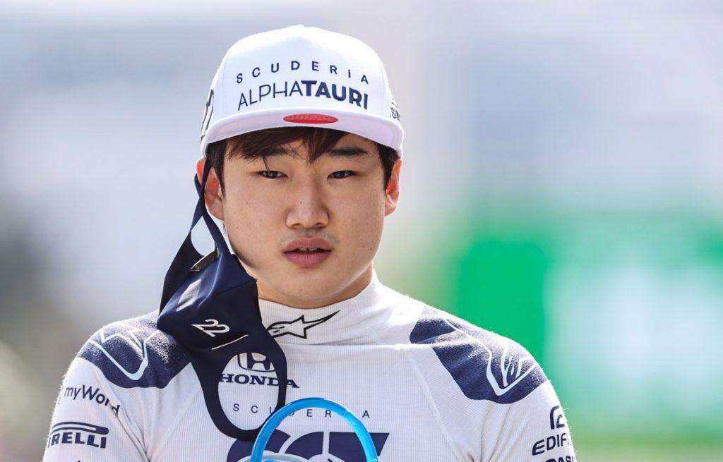 Yuki Tsunoda, AlphaTauri, Azerbaijan Grand Prix 2021