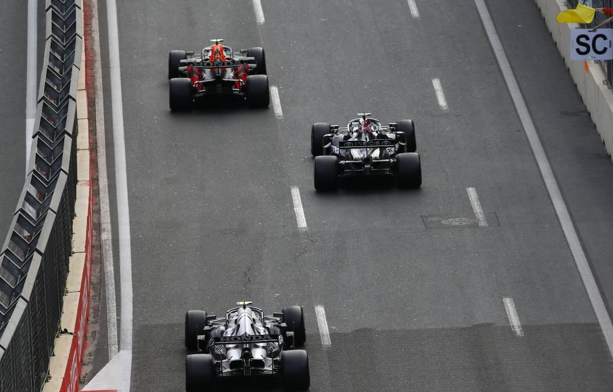 Sergio Perez Lewis Hamilton Baku