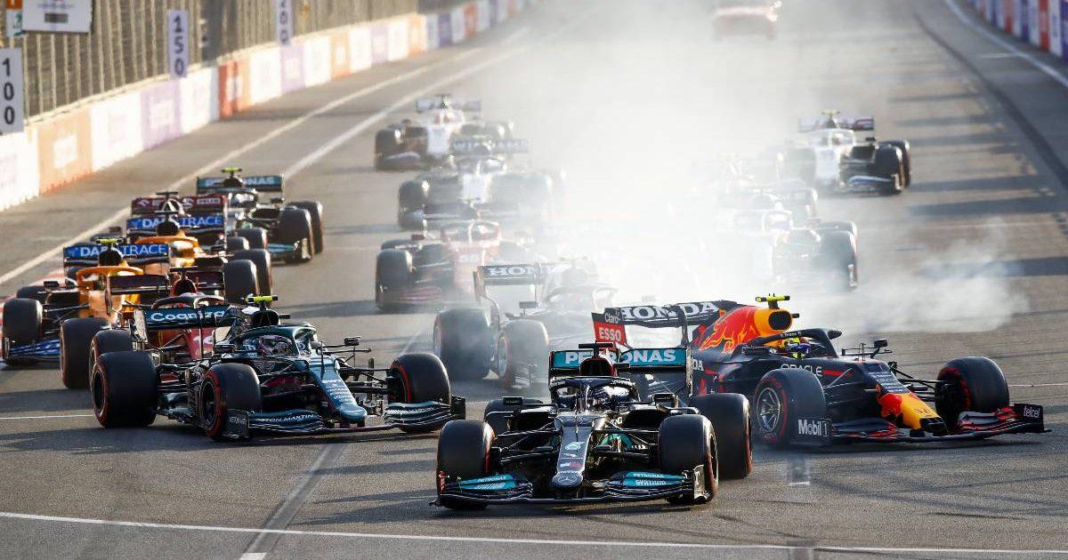 Sergio Perez Lewis Hamilton