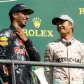 Daniel Ricciardo Nico Rosberg