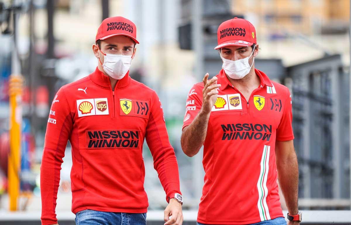 Charles Leclerc and Carlos Sainz, Ferrari