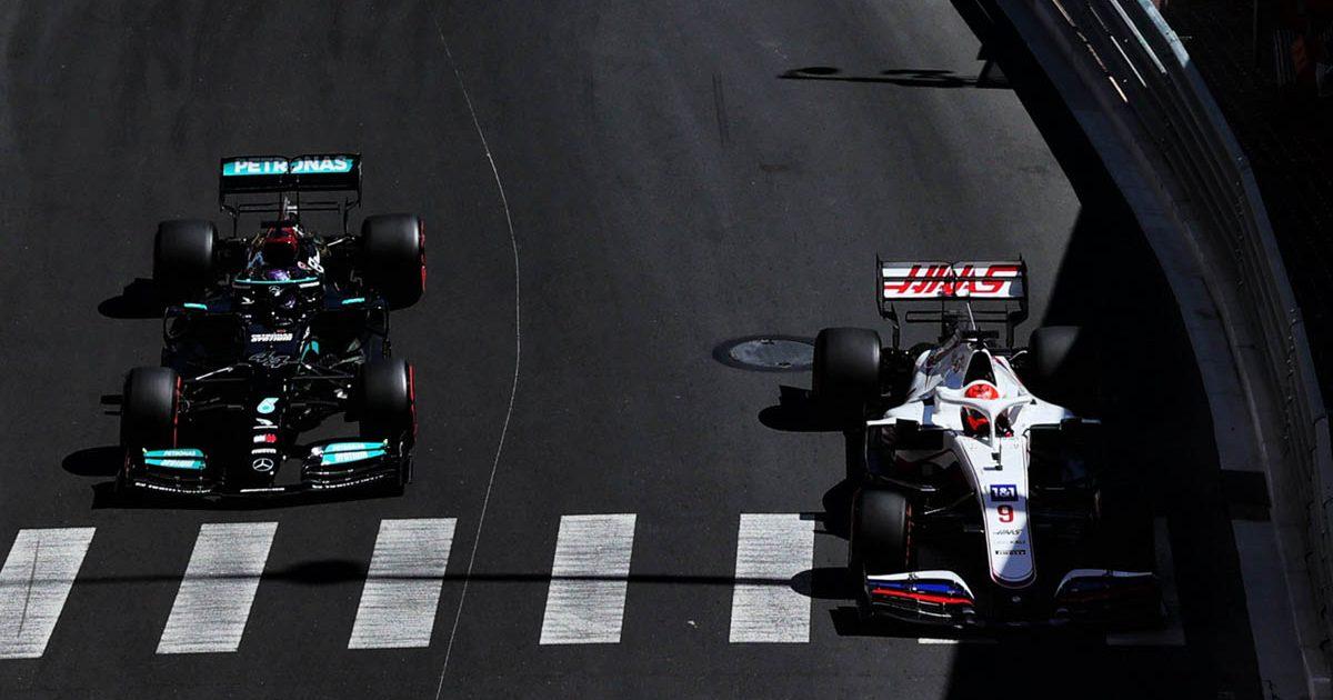 Lewis Hamilton Nikita Mazepin