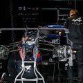 Alpine Formula 1 garage