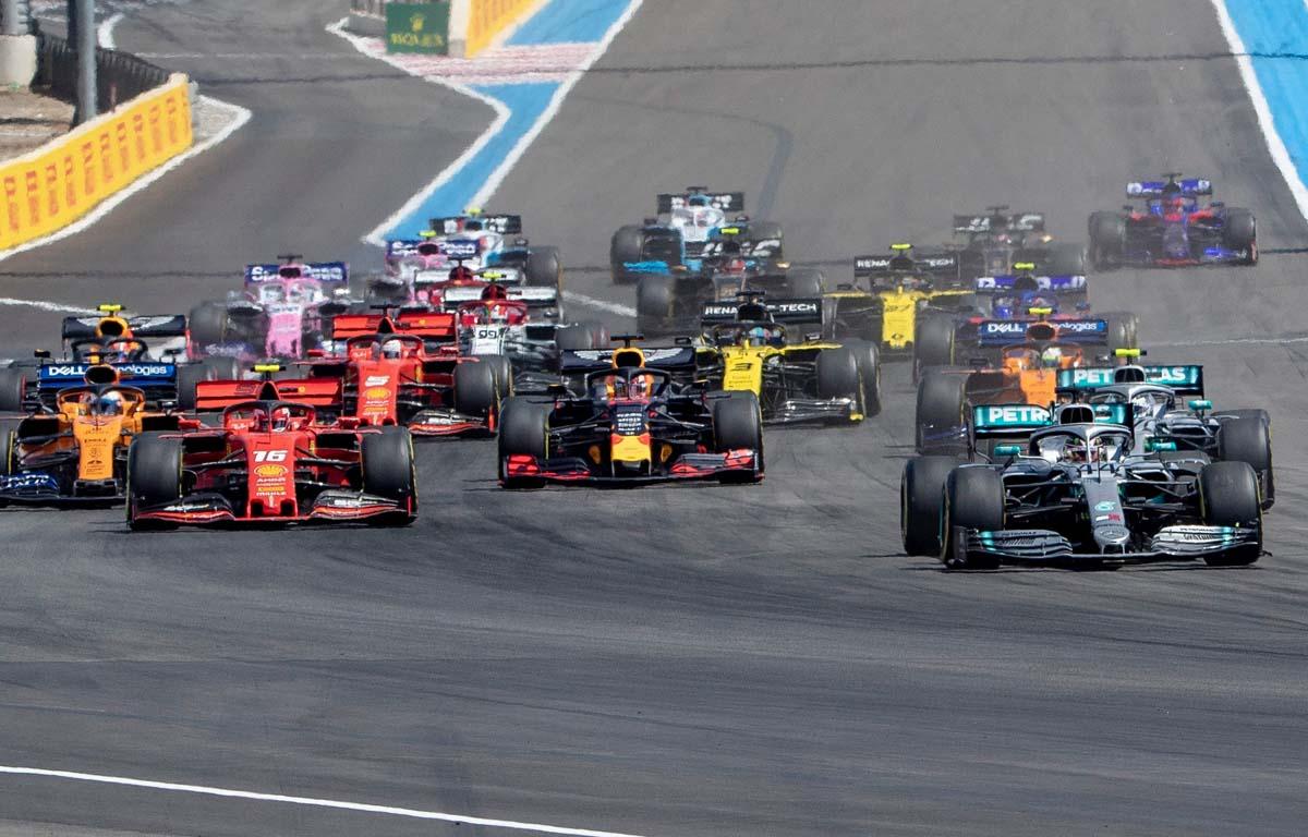 French GP start 2019