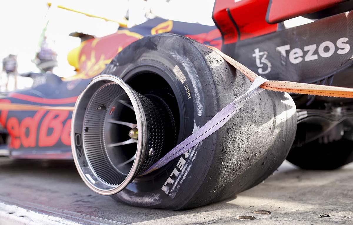 Max Verstappen Red Bull Pirelli
