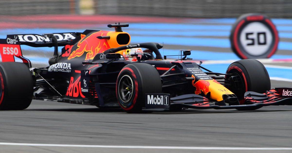 Max Verstappen, Red Bull, French GP qualifying