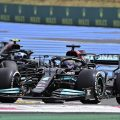 Lewis Hamilton Valtteri Bottas Mercedes