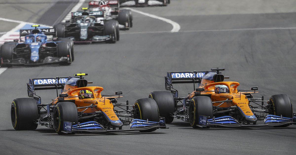 Lando Norris Daniel Ricciardo McLaren