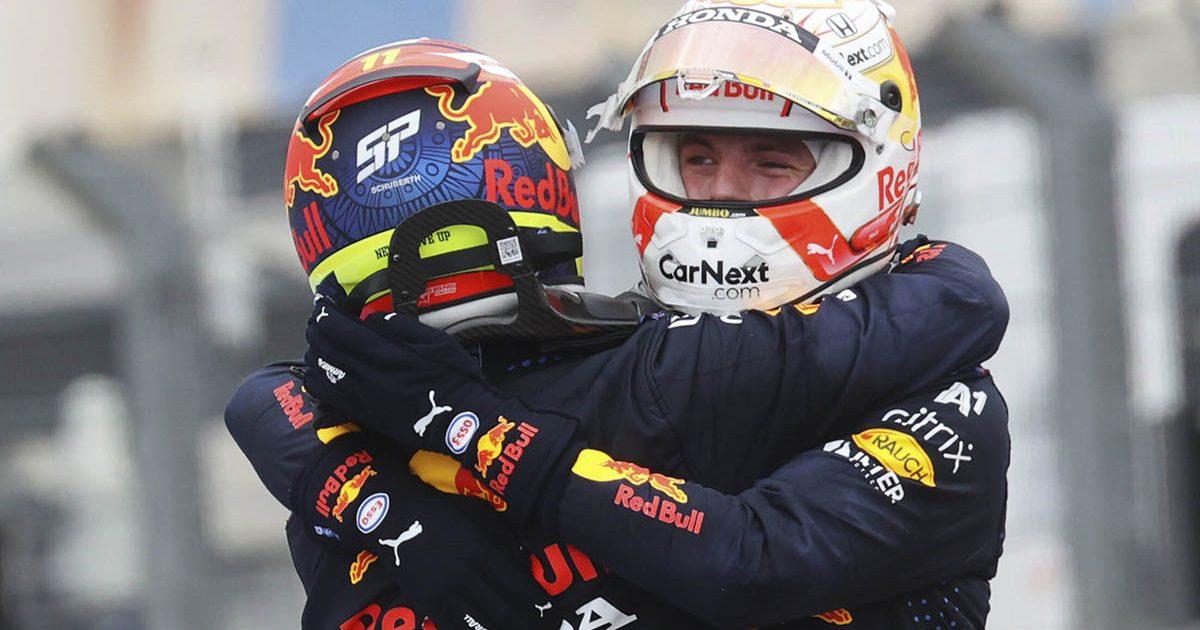 Sergio Perez Max Verstappen Red Bull