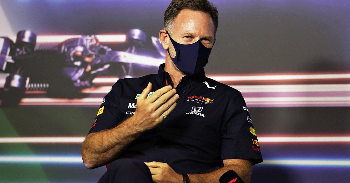 Christian Horner Red Bull Lewis Hamilton