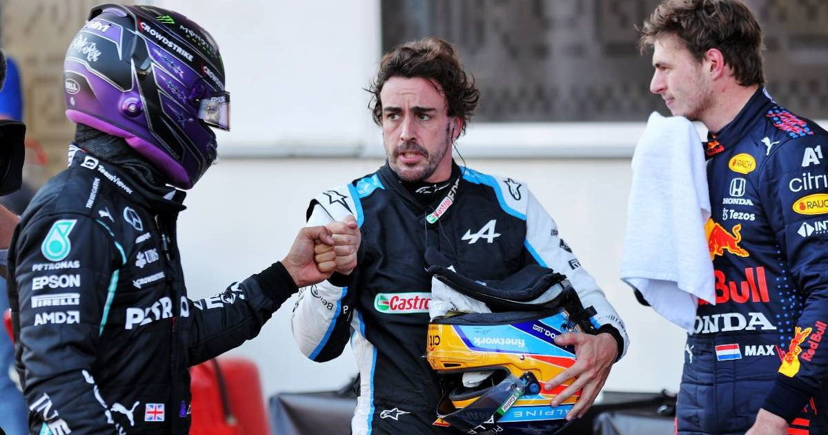 Lewis Hamilton Fernando Alonso, Max Verstappen