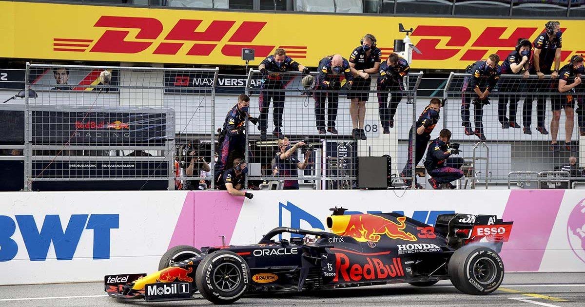 Max Verstappen Red Bull Styrian Grand Prix